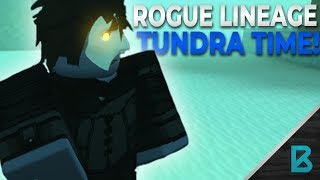 First Time in Tundra! | Rogue Lineage| ROBLOX