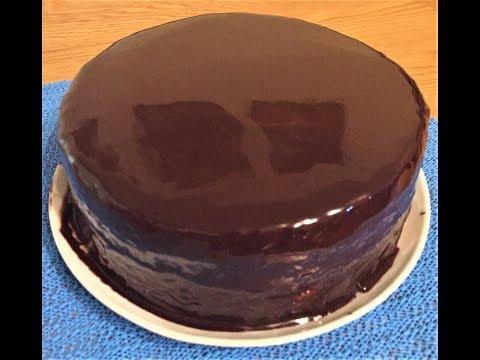 Bolo de chocolate com um brilho espelhado - Do Meu Jeito 71