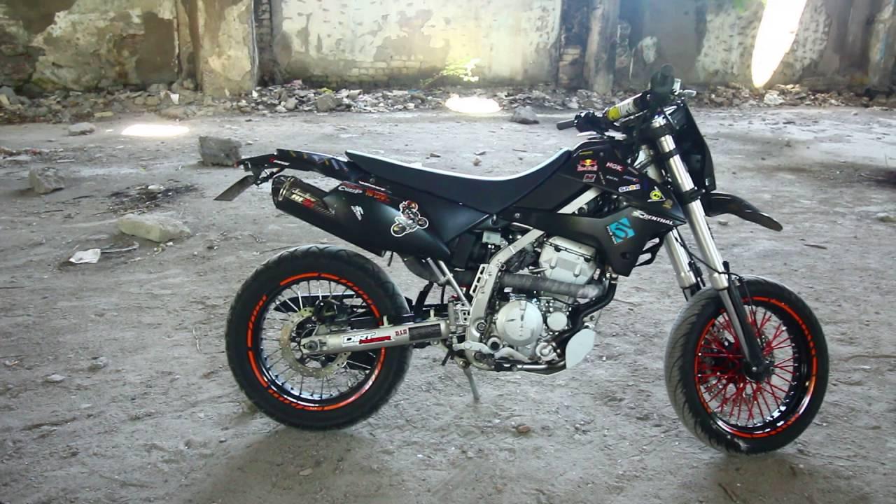 Kawasaki Klx 250 SuperMoto & Jardine RT 5 Exhaust Muffler