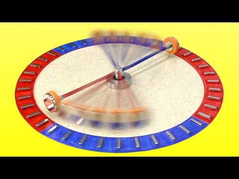 🌑 ВЕЧНЫЙ ДВИГАТЕЛЬ - есть закольцовка!!! Magnetic Propulsion Free Energy Magnet Motor Игорь Белецкий