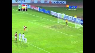 Tendangan Pinalti Indonesia U-23 vs Myanmar U-23, SEA GAMES 27 Myanmar 2013