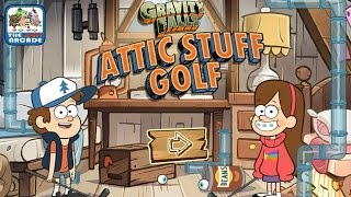 Gravity Falls: Attic Stuff Golf - Miniature Golf In The Attic (Disney Games)
