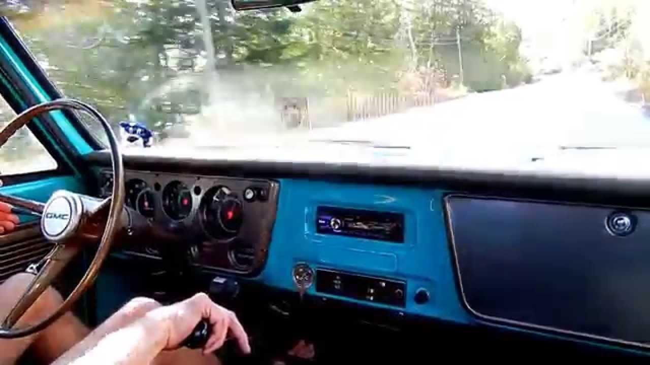 1968 gmc cm2500 w 478 v 6 driving  [ 1280 x 720 Pixel ]