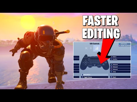The BEST EDIT SETTINGS For Console Fortnite **Fortnite Season 10 Console Tips**