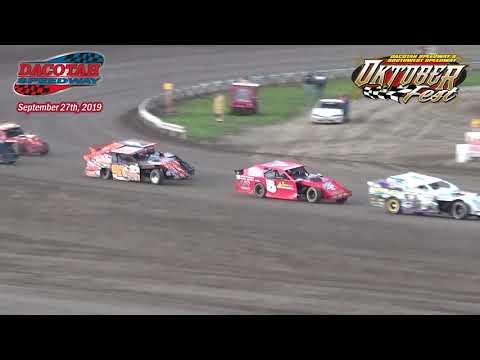 Dacotah Speedway IMCA Sport Mod Heats (Oktoberfest) (9/27/19)