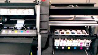 hp designjet 5500ps check printhead cleaner path error