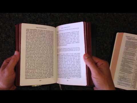 Cambridge 1662 Book of Common Prayer Enlarged Edition Brown Goatskin