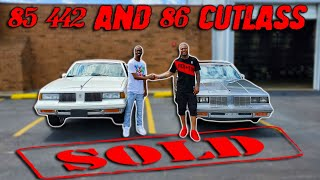 HANGING WITH JAY ENJOYING OUR 85 AND 86 CUTLASS - GBODYS