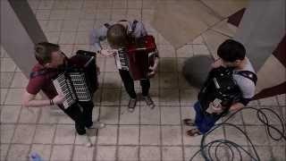 Deorro Feat. Adrian Delgado & DyCy -  Perdóname by Crazy Accordion Trio