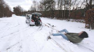 SNOW FUN in a F*CKED UP FORD KA #KAPORN | Maxteroid
