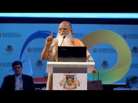 HG Swami Anubhavananda Saraswati - 26th IMA International Management Conclave 2017.