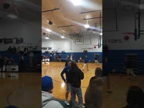 Pre-Game Warmups Bourbon High school Team