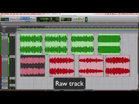 The recording process - tracking, editing, mixing, and mastering - How do they sound?
