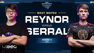 Serral vs Reynor ZvZ - Round of 8 - WCS Winter Europe