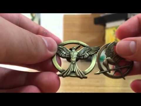 The Hunger Games Mockingjay Part 1 Mockingjay pin Review