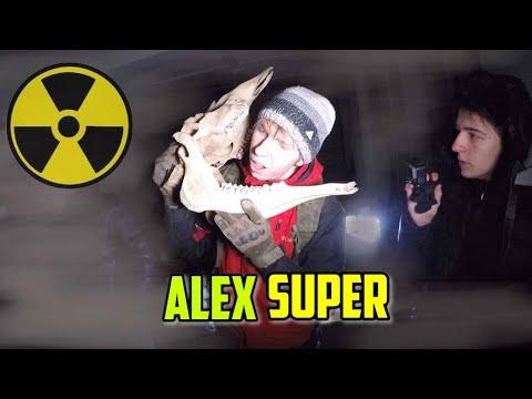 СКЕЛЕТ МОНСТРА  НА ЗАБРОШКЕ ПРОВЕРКА НА ПРОЧНОСТЬ Alex Super