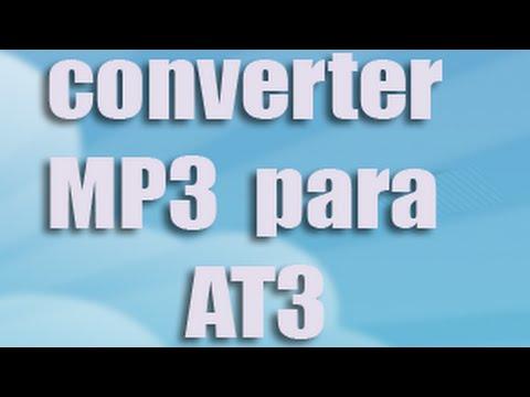 Como Converter MP3 Para AT3