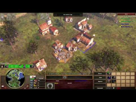 AoE3 1v1: Ports vs Germans on Araucania