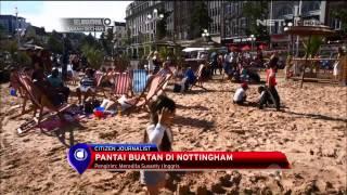 Pantai Buatan Di Nottingham, Inggris - NET12