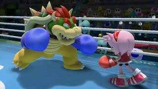 Mario and Sonic at the Rio 2016 Olympic Games (Wii U) - Heroes Showdown Gameplay (Team Mario)