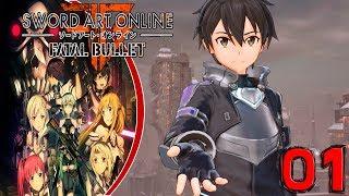 Sword Art Online: Fatal Bullet |ESP| #1 Conozco a chica y Kirito intenta matarme ¿Coincidencia?