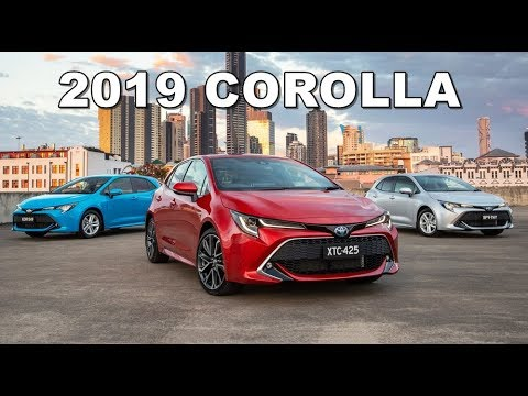 2019 Toyota Corolla Hatchback All Trims Specs Youtube