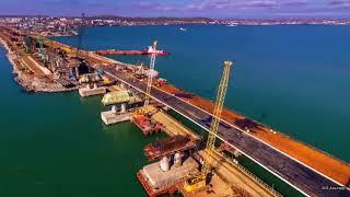 Крымский мост огибает мыс Ак Бурун