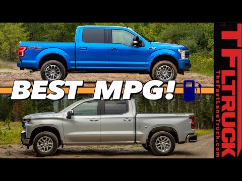 We Test Them All! These Are The Top 10 Most Fuel Efficient New Trucks When Towing!