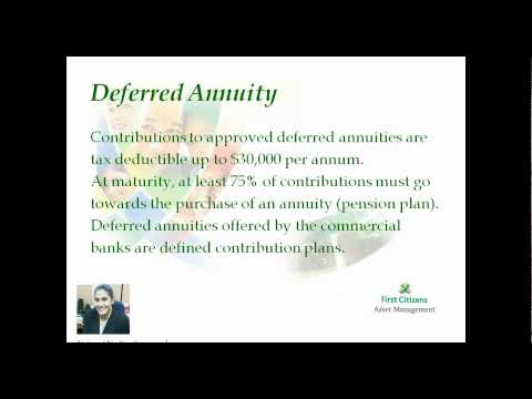 Understanding Investments with First Citizens Asset ManagementSession #5 (2011-09-21)