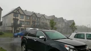 Severe Thunderstorm in Ottawa