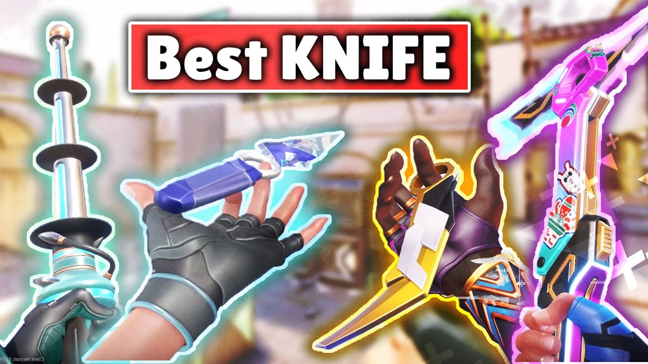 Download VALORANT SKINS TIER LIST | TOP 10 KNIVES IN VALORANT