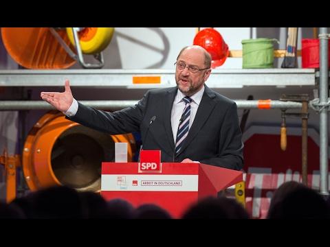 """Rede Martin Schulz """"Arbeit in Deutschland"""""""