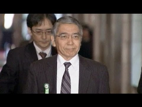 Bank of Japan nominee Kuroda pledges to fight deflation
