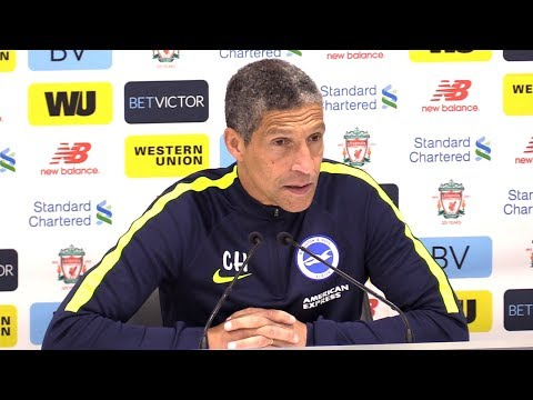 Liverpool 4-0 Brighton - Chris Hughton Full Post Match Press Conference - Premier League