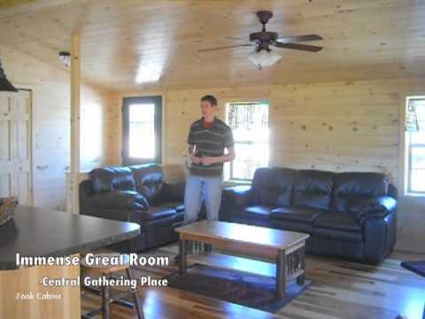 22x40 Pioneer Cabin Tour