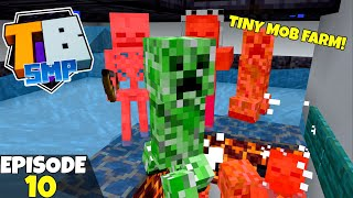 Truly Bedrock S2 Ep10! TINY Hostile MOB FARM! Bedrock Edition Survival Let's Play!