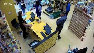 Случай в магазине. Танцующий Покупатель Екатеринбург