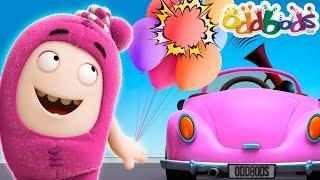 Balloons 'Pop!', Cars 'Beeps!'   Oddbods Sounds
