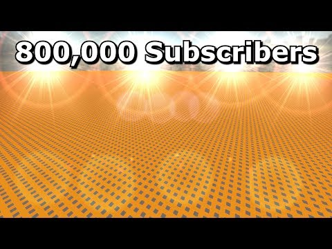 800,000 Subscriber Special and 128 Tick Follow-up