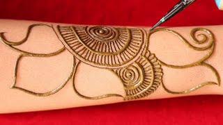 shaded arabic mehndi design, new arebic mehendi    latest henna mehndi for hands    shaded mehandi