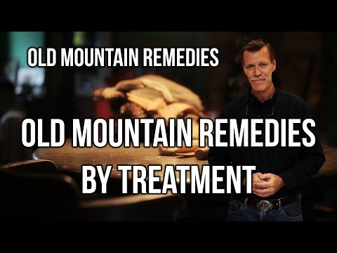 3025 - Old Mountain Remedies by Treatment / Old Mountain Remedies - Walt Cross