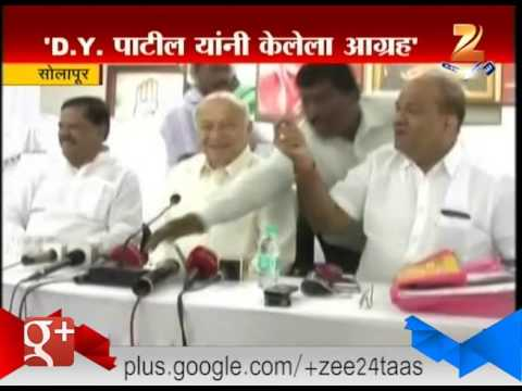 Sushil Kumar Shinde Breaks His Silence