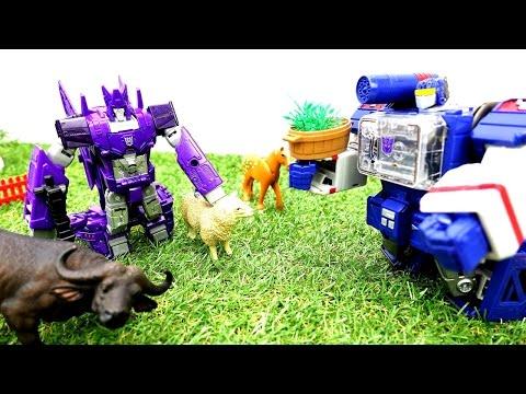 #Трансформеры: излучатель ДОБРА 🤖 Десептиконы VS Автоботы 🤖 Игры для мальчиков