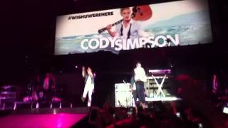 Believe Tour-Cody Simpson feat Justin Bieber, So listen, Paris Bercy, 19/03/2013