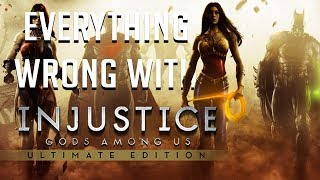 Repeat youtube video GamingSins: Everything Wrong with Injustice: Gods Among Us (Ultimate Edition)