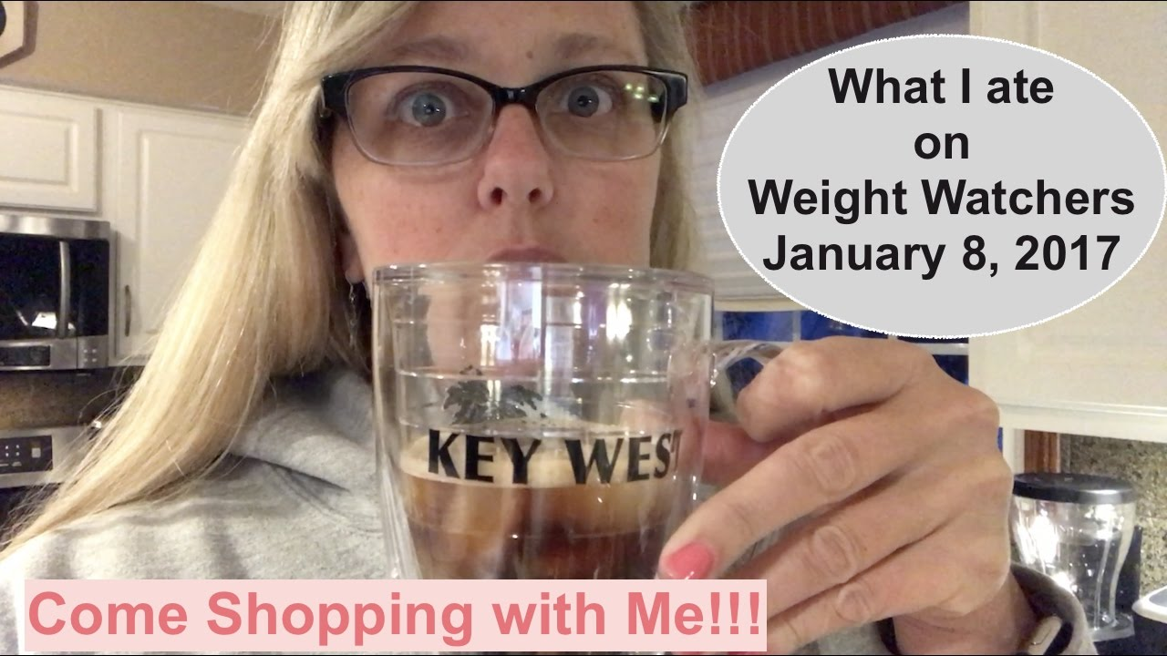 what i ate on weight watchers 35 sp goal january 08 2017 youtube. Black Bedroom Furniture Sets. Home Design Ideas