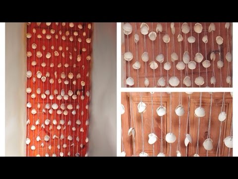 How To Make An Awesome Curtain Of Seashells - DIY Crafts Tutorial - Guidecentral
