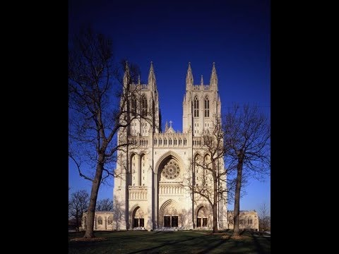 Bach Fugue in D Minor Washington Cathedral Nicholas White