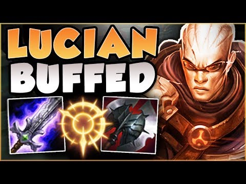 RIOT 100% GAVE LUCIAN TOO MUCH DAMAGE! BUFFED LUCIAN SEASON 8 TOP GAMEPLAY! - League of Legends