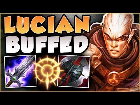RIOT 100% GAVE LUCIAN TOO MUCH DAMAGE! BUFFED LUCIAN SEASON 8 TOP GAMEPLAY! - League of Legends